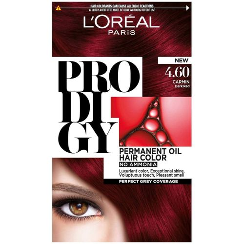 loreal prodigy intense red