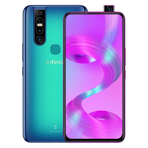 X660B S5 Pro - 6.53-inch 64GB/4GB Dual SIM Mobile Phone - Sea Blue