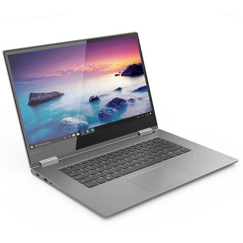 Lenovo Yoga 730-15IKB 2 في 1 لاب توب - Intel Core I7-8550U - 16 جيجا بايت رام - 512 جيجا بايت SSD - 15.6 بوصة FHD لمس - مُعالج رسومات GTX1050 4 جيجا بايت - Windows 10 - لوحة مفاتيح إنجليزية
