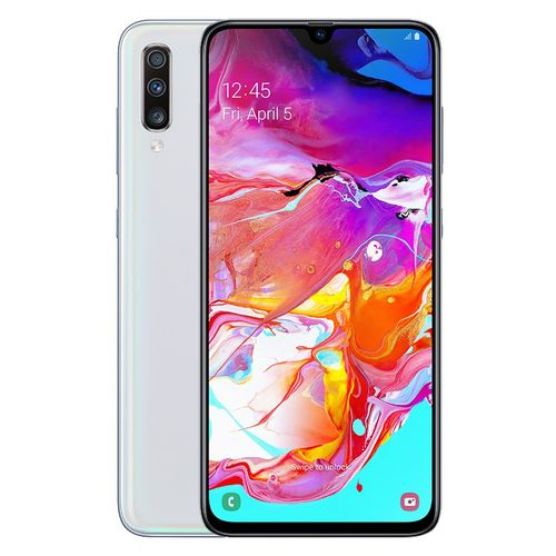 Galaxy A70 - 6.7-inch 128GB/6GB Dual SIM 4G Mobile Phone - White
