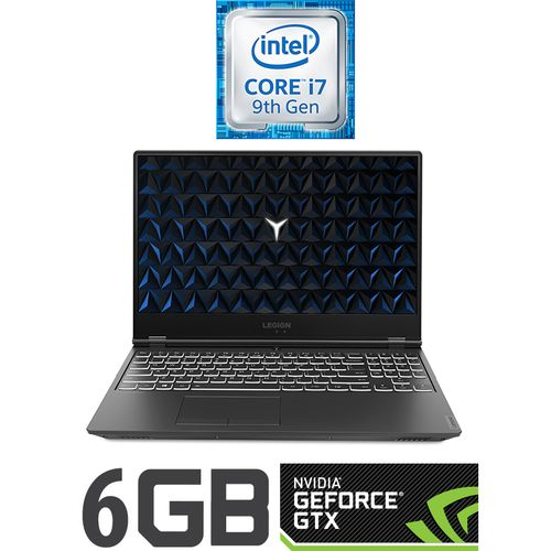Legion Y540-15IRH لاب توب ألعاب - Intel Core i7 - رام 16 جيجا - هارد ديسك درايف 2 تيرا + 512 جيجا SSD - 15.6 بوصة FHD - مُعالج رسومات 6 جيجا - DOS - أسود