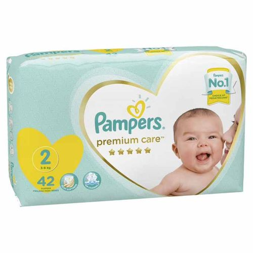 Premium Care Diapers - Size 2 - 42 Pcs