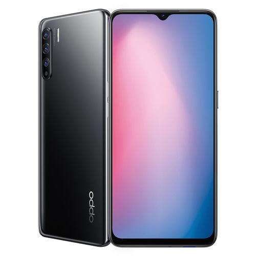 Oppo Reno3 - 6.4-inch 128GB/8GB Mobile Phone - Midnight Black