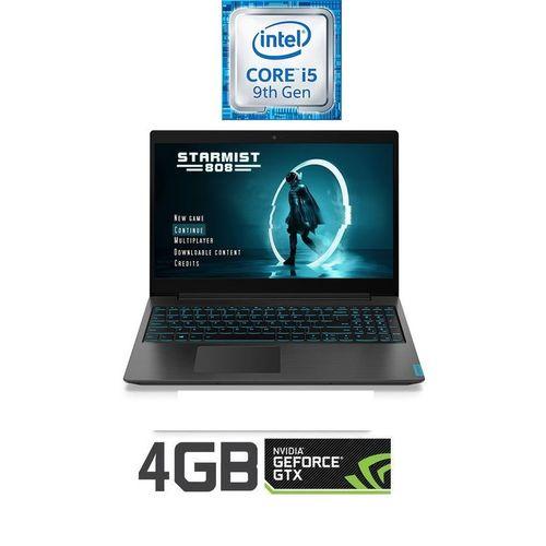 Lenovo IdeaPad L340-15IRH Gaming Laptop - Intel Core I5-9300H - 8GB RAM - 1TB HDD + 256GB SSD - 15.6-inch FHD - 4GB NVIDIA GTX1650 GPU - DOS - BLACK
