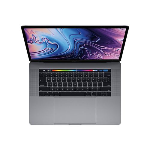 Apple MacBook Pro 15 With Touch Bar (Mid 2019) - Intel Core I9 - 16GB RAM - 512GB SSD - 15.4-inch Retina Display - 4GB GPU - MacOS - Space Gray - English Keyboard