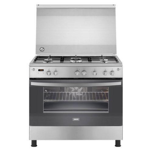 Zanussi ZCG94396XA Full Safety Free Standing Cooker – 90cm - Silver