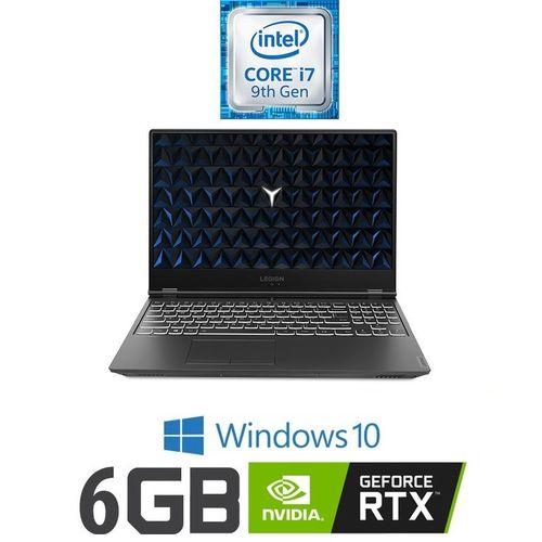 "product_image_name-Lenovo-Legion Y540-15IRH Gaming Laptop - Intel Core I7-9750H - 16 GB RAM -1TB HDD + 512GB SSD - 6GB NVIDIA RTX2060 GPU - 15.6"" FHD -  Windows 10 - Black-1"
