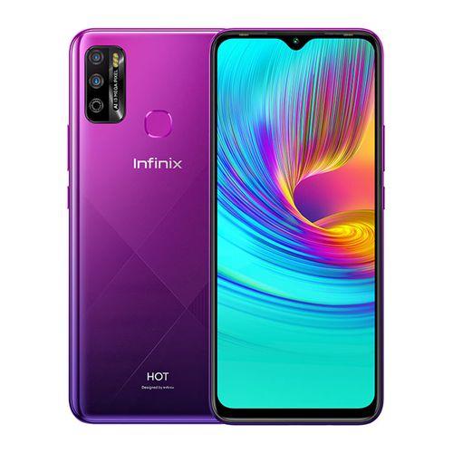 Hot 9 Play - 6.82-inch 64GB/3GB Dual SIM Mobile Phone - Violet