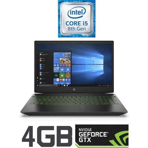 HP 15-cx0012ne لاب توب ألعاب Pavilion  - انتل كور i5 - رام 16 جيجا - هارد 1 تيرا - SSD 128 جيجا - 15.6 بوصة FHD - مُعالج رسومات 4 جيجا - Windows - أخضر