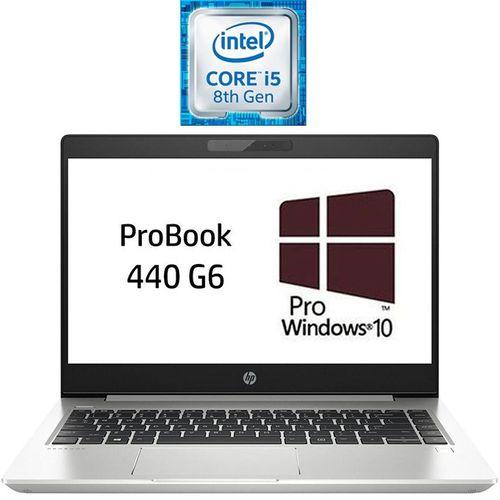 HP ProBook 440 G6 Laptop - Intel Core I5 - 8GB RAM - 1TB HDD - 14-inch HD - 2GB GPU - Windows 10 Pro - Natural Silver