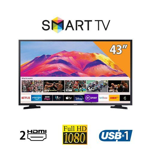 UA43T5300 - 43-inch Full HD Smart TV With Built-In Receiver