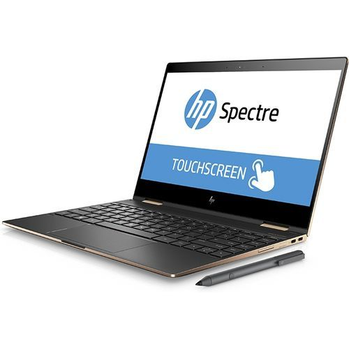 HP Spectre 13 X360 لاب توب متحول - مُعالج Intel Core I7-8550u - رام 16 جيجا بايت - SSD 1 تيرا - شاشة لمس 13.3 بوصة FHD - رسومات انتل - ويندوز 10 - لوحة مفاتيح باللغة الإنجليزية