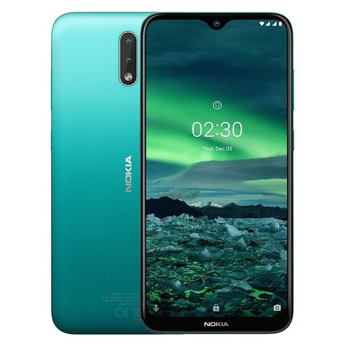 2.3 - 6.2-inch 32GB/2GB Dual SIM Mobile Phone - Cyan Green