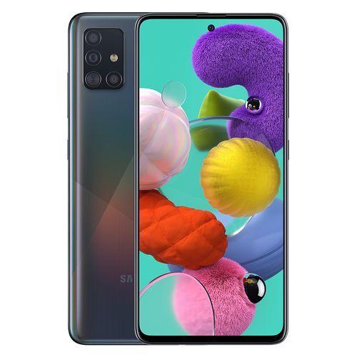Galaxy A51 - 6.5-inch 128GB/6GB Dual SIM 4G Mobile Phone - Prism Crush Black