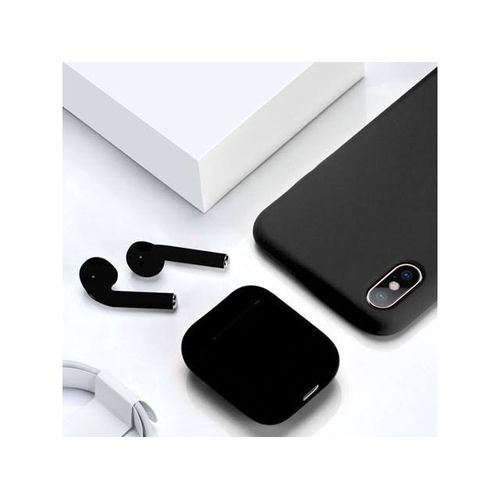 product_image_name-TWS-I12 Double Bluetooth Earphones For IOS & Android - Black-1