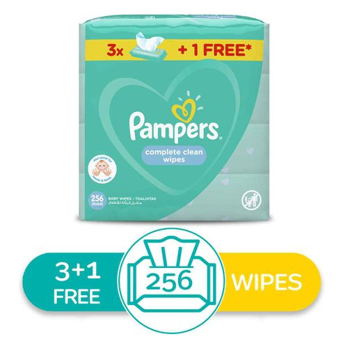 Fresh Clean Baby Wipes - 256 Pcs