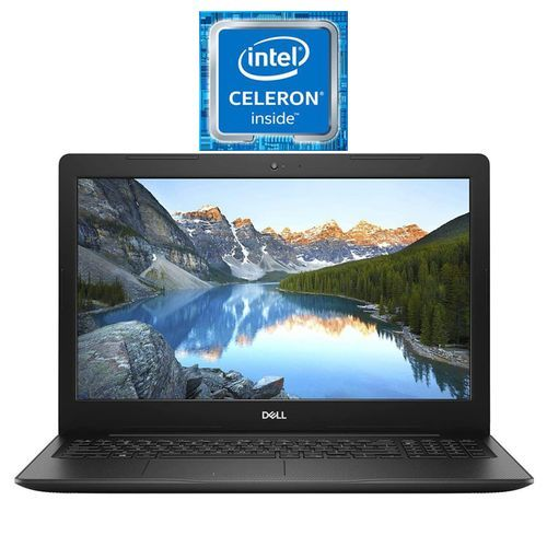 Inspiron 15-3583 Laptop - Intel Celeron 4205U - 4GB RAM - 500GB - Intel HD Graphics 610-15.6 Inch HD -DOS- Black