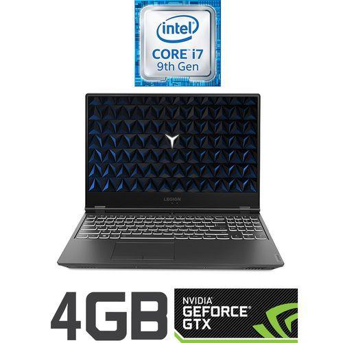 Legion Y540-15IRH-PG0 لاب توب ألعاب - Intel Core i7 - رام 16 جيجا - هارد 1 تيرا + 128جيجا SSD - 15.6 بوصة FHD - مُعالج رسومات 4 جيجا - DOS - أسود