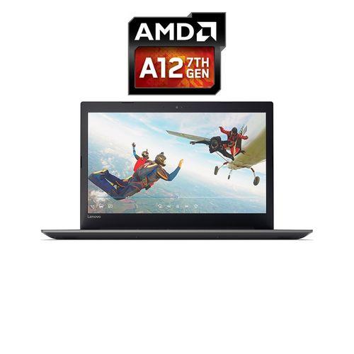 Lenovo 320-15ABR لاب توب ايديا باد - AMD A12 - رام 8 جيجا - هارد 1 تيرا - 15.6 بوصة - HD - مُعالج Radeon R7 - Windows 10 - لوحة مفاتيح باللغة الإنجليزية