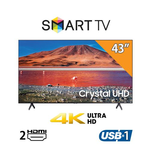 TU7000- 43-inch 4K LED Smart TV