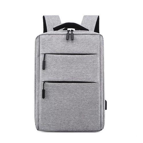 Generic Intelligent Computer Waterproof Travel Backpack - Gray