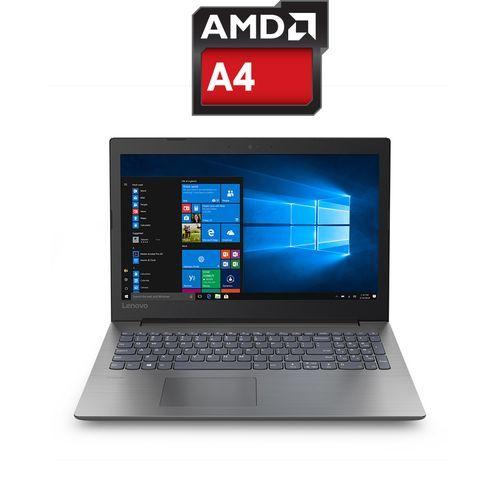 IdeaPad 330-15AST Laptop - AMD A4 - 4GB RAM - 1TB HDD - 15.6-inch HD - AMD GPU - DOS - Onyx Black
