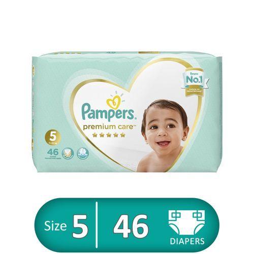Premium Care Diapers - Size 5 - 46 Pcs
