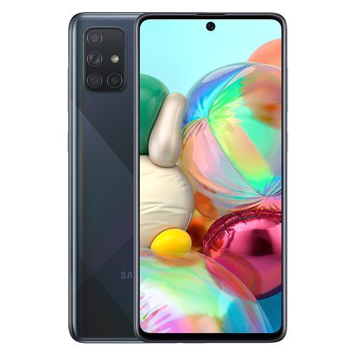 Samsung Galaxy A71 - 6.7-inch 128GB/8GB Dual SIM 4G Mobile Phone - Prism Crush Black