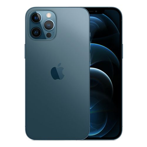 iPhone 12 Pro Max Dual SIM with FaceTime - 128GB - Pacific Blue