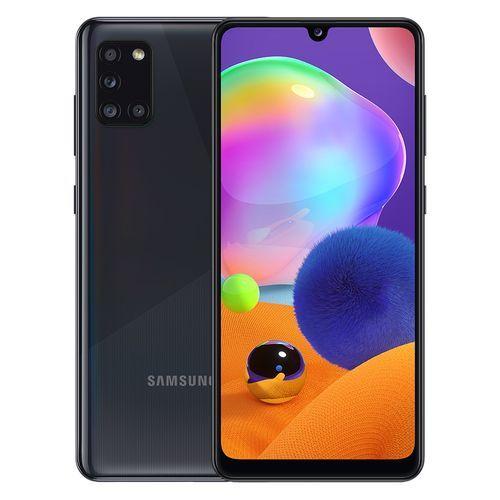 Galaxy A31 - 6.4-inch 128GB/4GB Dual SIM 4G Mobile Phone - Prism Crush Black