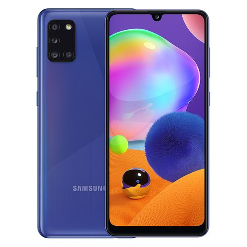 Galaxy A31 - 6.4-inch 128GB/4GB Dual SIM 4G Mobile Phone - Prism Crush Blue
