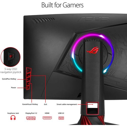 Asus XG32VQ - 31.5-inch Curved WQHD 144Hz Gaming Monitor