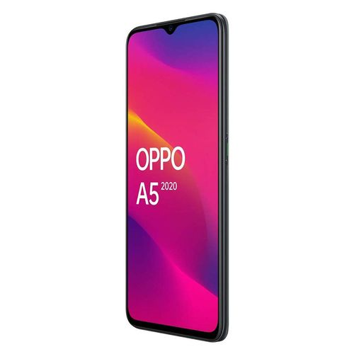 Oppo A5 (2020)- موبايل ثنائي الشريحة 6.5 بوصة 128 جيجا بايت / 4 جيجا بايت - أسود