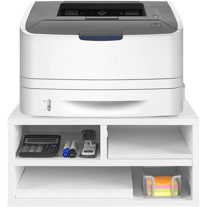 Shop Generic Printer Stand Desk Storage Organizer White Jumia Egypt