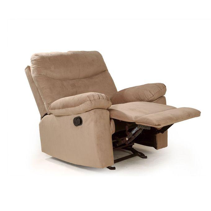 Enjoyable Lazy Boy Recliner Chair 98X100 Cm Beige Bralicious Painted Fabric Chair Ideas Braliciousco