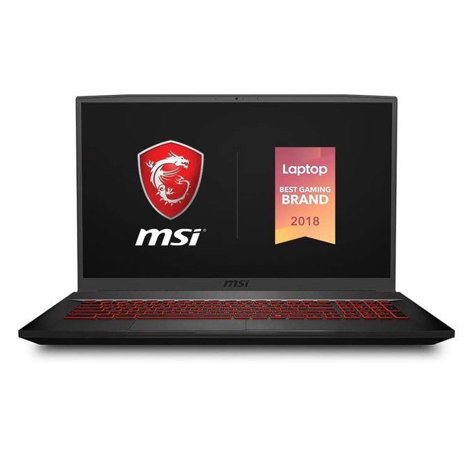 Shop Msi Gf75 9sc Gaming Laptop Intel Core I7 16gb Ram 512gb Ssd 17 3 Inch Fhd 4gb Gpu Dos Black Jumia Egypt