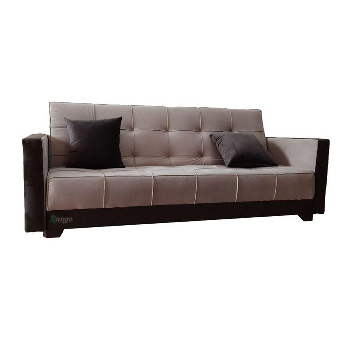 Shop Rango Bed Sofa   Beige X Brown  120200 Cm   Jumia Egypt