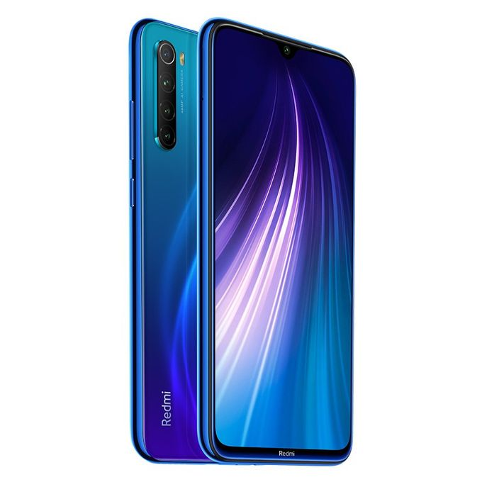 Redmi Note 8 63 Inch 64gb4gb Mobile Phone Neptune Blue