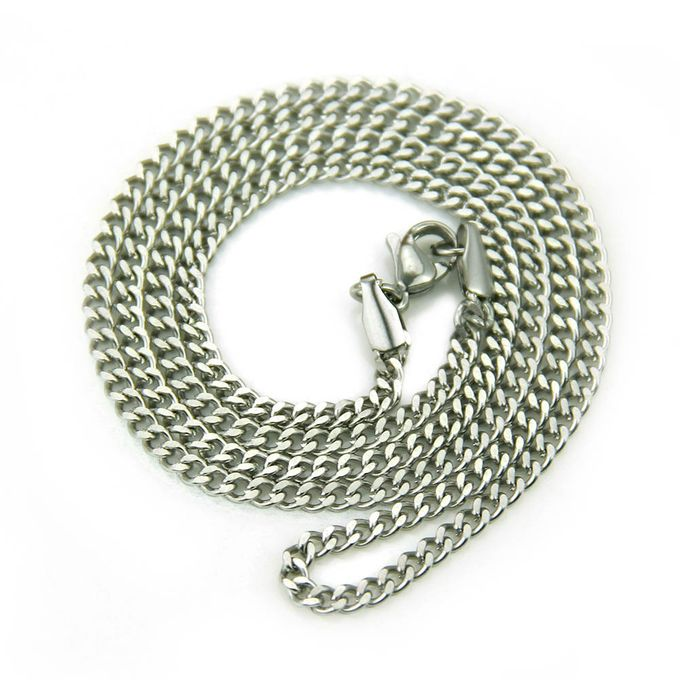 Shop Fashion Long Chain Necklace Men Jewelry Brand Gothic Gold
