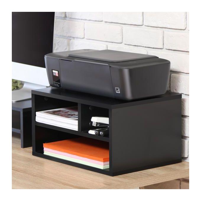 Shop Generic Printer Stand And Desk Storage Organizer 40x30x22 Black Jumia Egypt