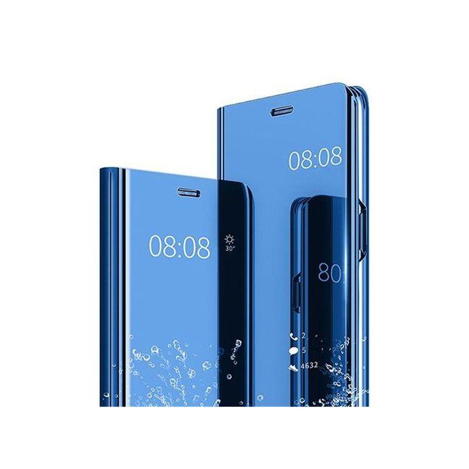 scarpe da ginnastica a buon mercato 430ef cc069 Huawei Nova 3i/P Smart Plus Leather Case Cover With Stand Function Plating  Mirror-Blue