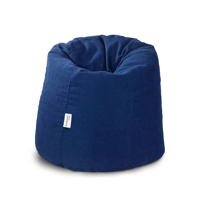 Superb Sabia X Large Bean Bag 90 90 Cm Navy Blue Uwap Interior Chair Design Uwaporg
