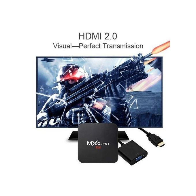 Pro 4K HD Android TV Box