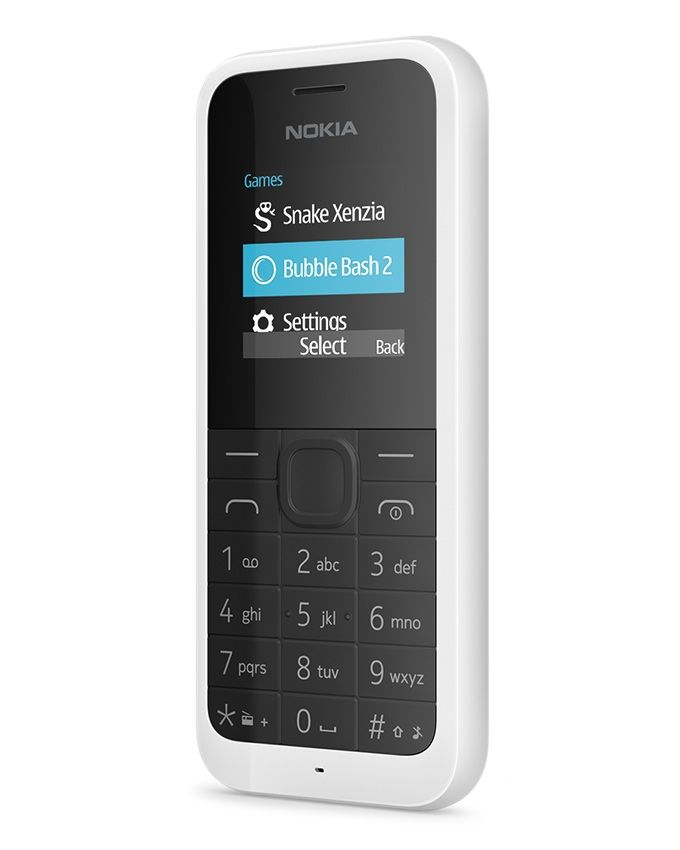 105 (2015) - 1.4 Dual SIM Mobile Phone - White