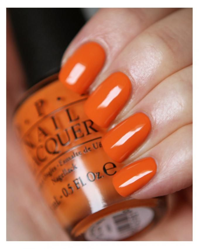 Nail Polish - NL C33 Orange You Stylish - 15ml