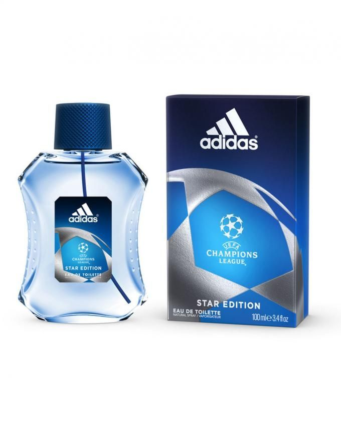 UEFA Champions League Star Edition - for Men - EDT - 100 ml