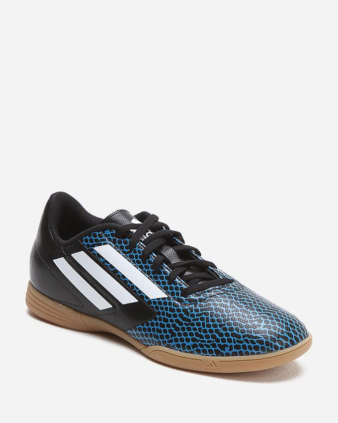 Adidas Conquisto IN Football Trainers - Blue & Black