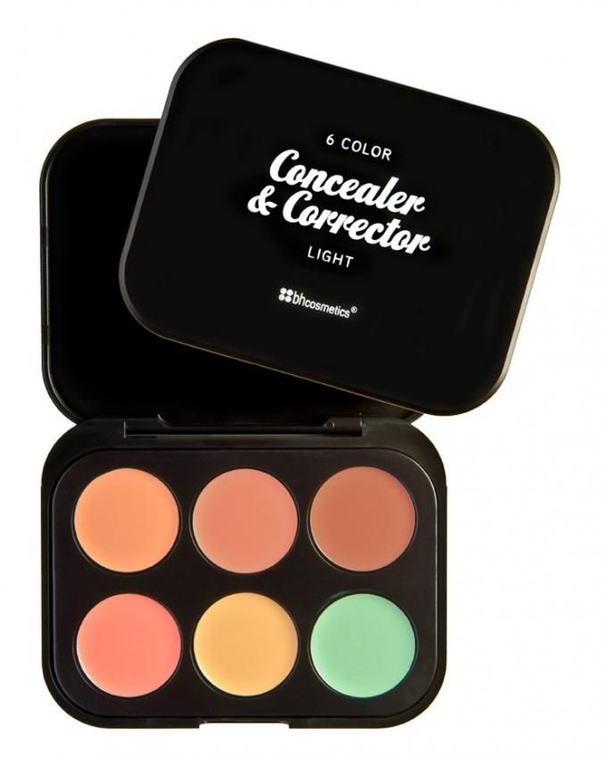 Concealer & Corrector Palette - 6 Colors - Light