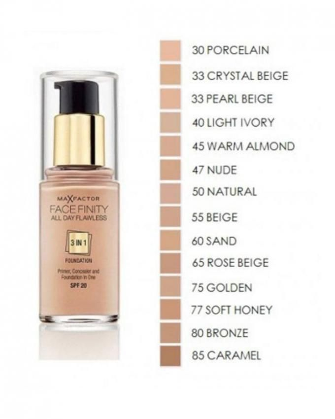 Face Finity 3 In 1 Foundation - 30 ml - 33 Crystal Beige