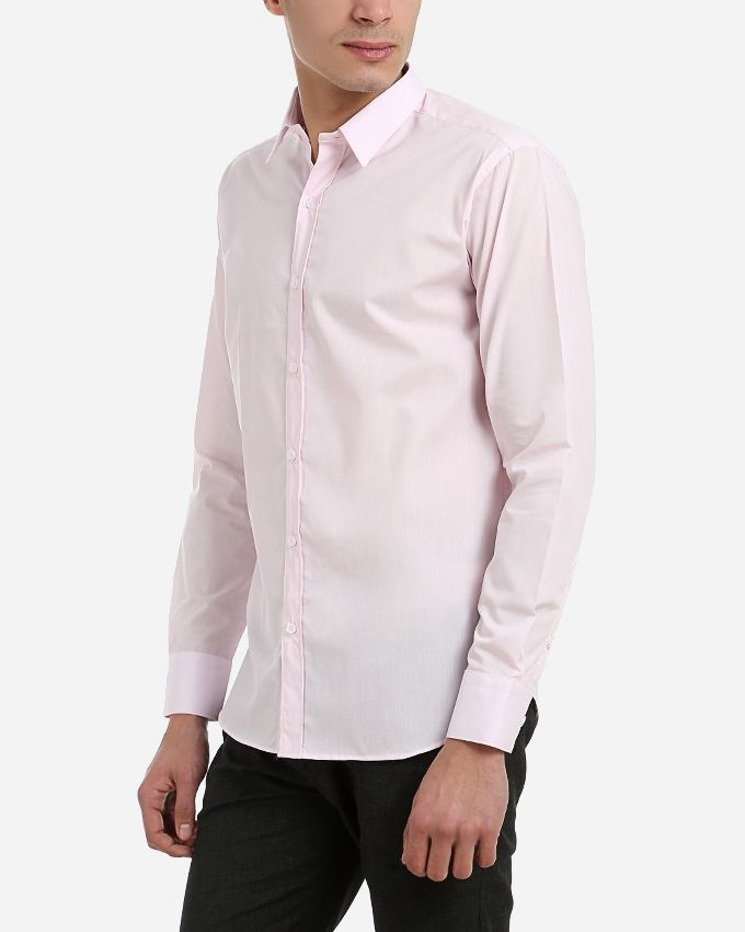 Casual Buttoned Shirt - Pink